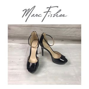 Marc Fisher Black High Heels. Sz 8.5M